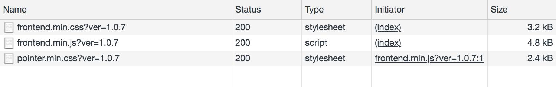elemental menu extra lightweight CSS and scripts